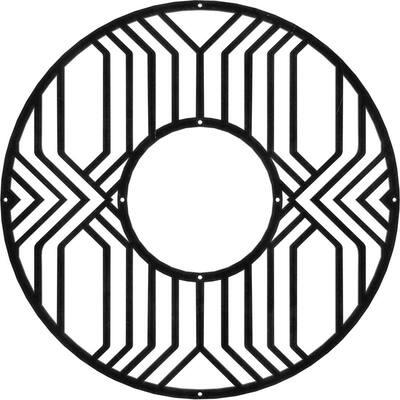 1/8 in. x 28 in. x 28 in. Empire Metal Pierced Ceiling Medallion