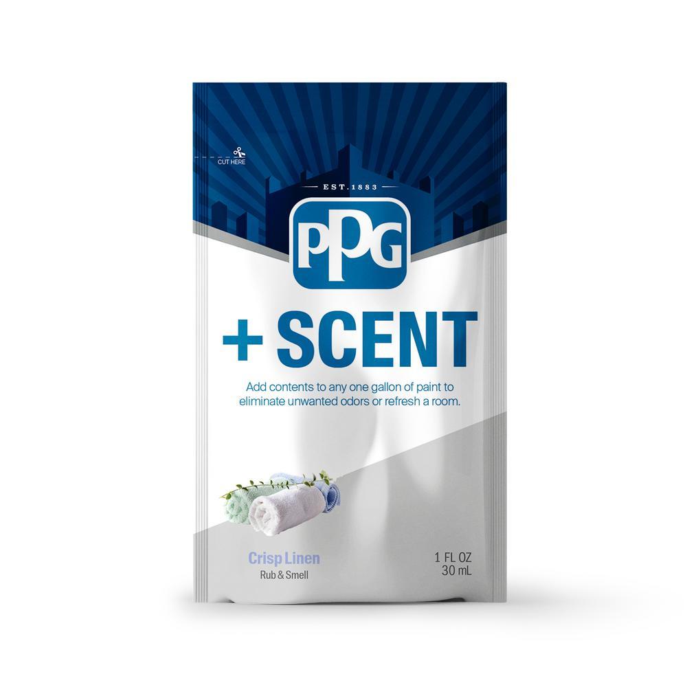 +Scent 1 oz. Crisp Linen Odor Control Paint Additive (Treats 1 Gal.)