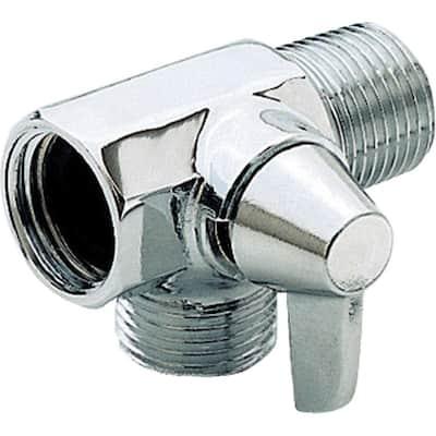 Shower Arm Diverter for Handshower in Chrome