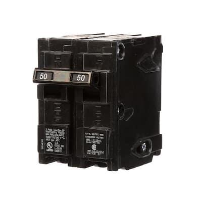 50 Amp Double-Pole Type QP Circuit Breaker