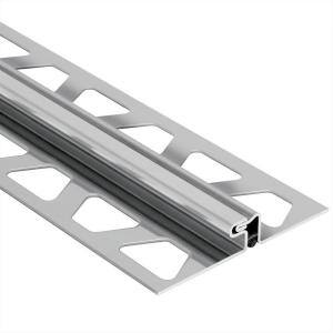 Dilex-EDP Stainless Steel 5/16 in. x 8 ft. 2-1/2 in. Metal Movement Joint Tile Edging Trim