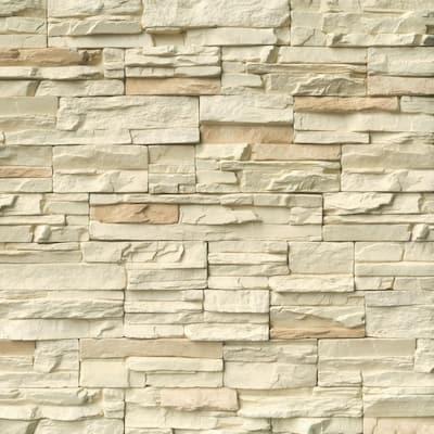 Terrado Bayside Cream Manufactured Stacked Stone (6 sq. ft./case)