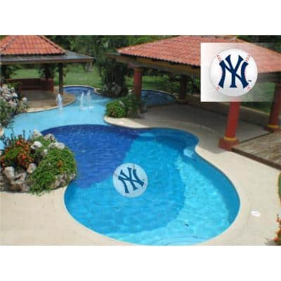 MLB New York Yankees 59 in. x 59 in. Large Pool Graphic