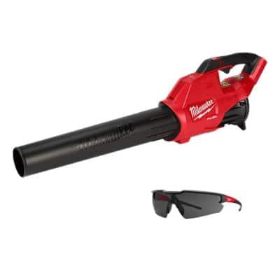 M18 FUEL 120 MPH 450 CFM 18-Volt Lithium-Ion Brushless Cordless Handheld Blower with Tinted Safety Glasses (Tool-Only)