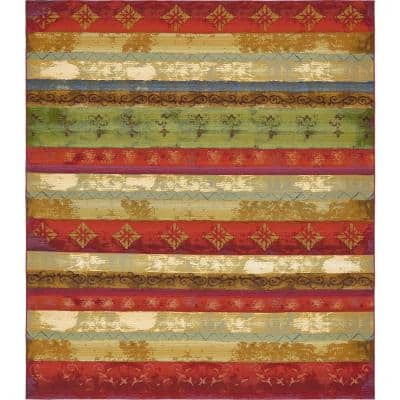 Outdoor Traditional Multi 10' 0 x 12' 0 Area Rug