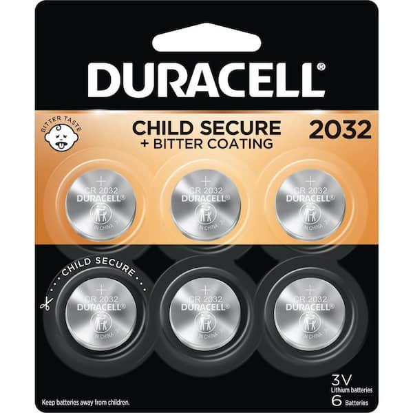 3V Duracell Coin Cell  DL2032//CR//BR2032//CR2032 Pack of 8