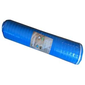 2mm Laminate Flooring Blue Foam Underlayment , 2mm Thick x 3.3 ft. W x 30.5 ft. L (100 sq. ft. / Roll)