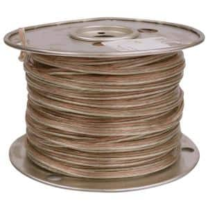 25 ft. 18/2 Clear Stranded CU CL3R Speaker Wire