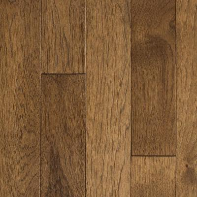 Hickory Sable 3/4 in. T x 2-1/4 in. W x Varying Length Solid Hardwood Flooring (24 sq. ft./Case)