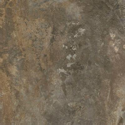 Dark Grey Slate 12 in. x 12 in. Peel and Stick Vinyl Tile (30 sq. ft. / case)