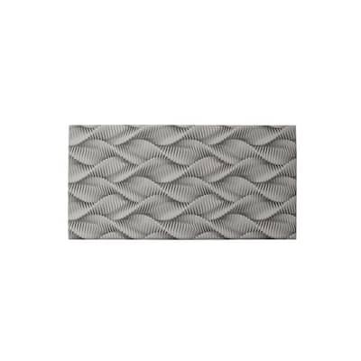 Cloud Comfort Zigzag 39 in. x 20 in. Anti-Fatigue Kitchen Mat