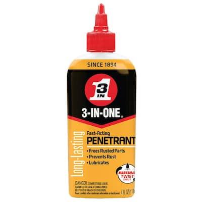 4 oz. Fast-Acting Penetrant Drip Oil