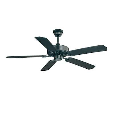 52 in. Flat Black Ceiling Fan