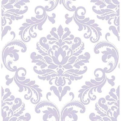 Purple Ariel Purple Wallpaper Sample