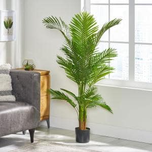 Gilliam 5 ft. Green Artificial Palm Tree