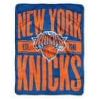 Clear Out New York Knicks Polyester Twin Knitted Blanket