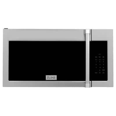 1.5 cu. ft. Over the Range Convection Microwave Oven in Stainless Steel with Traditional Handle with Sensor Cooking
