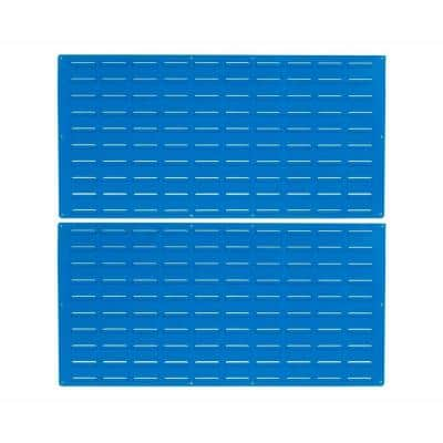24 in. H x 48 in. W Louvered Slat Wall Panel (Set of 2)
