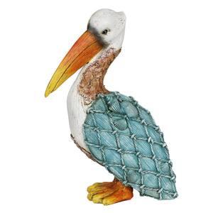 Sea Shell Pelican Statue