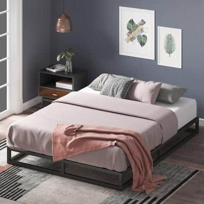 Joseph Modern Studio 6 in. Platforma Low Profile Bed Frame, Queen