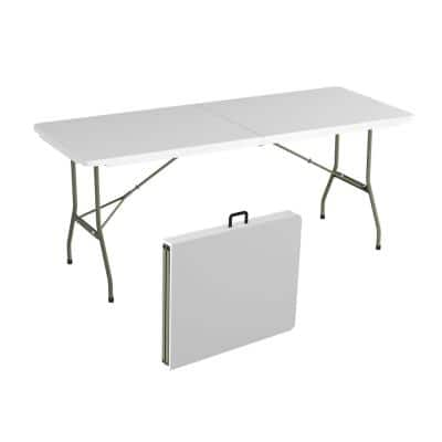 Folding Table Foldable Tables Storage Organization The Home Depot
