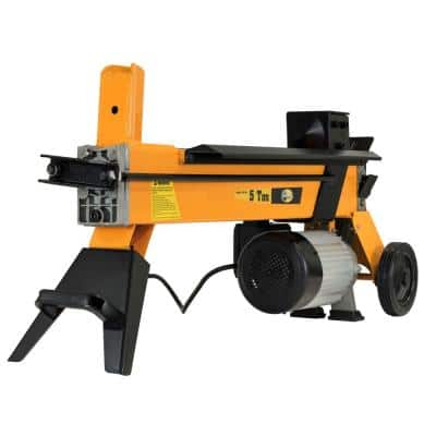 5-Ton 15 Amp Electric Log Splitter with Wheels