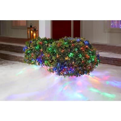 4 ft. x 6 ft. 150-Light LED Dome Multi Color Net Light