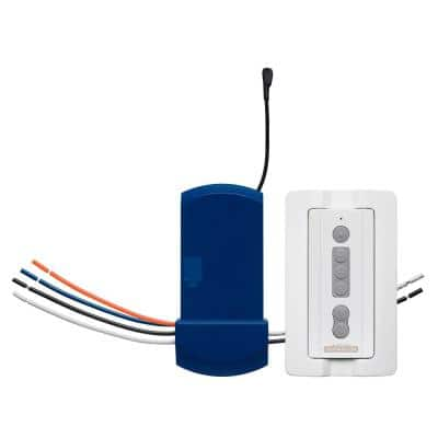 FanSync White Remote and Receiver - Uplight and Downlight