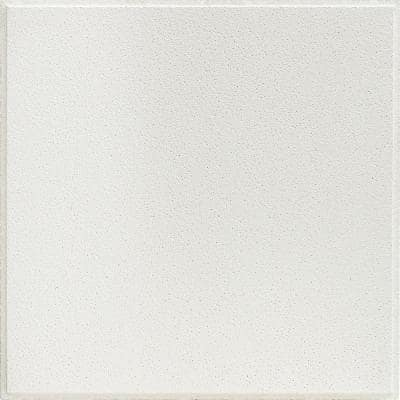 2 ft. x 2 ft. Olympia Micro White Shadowline Tapered Edge Lay-In Ceiling Tile, pallet of 320 (1280 sq. ft.)