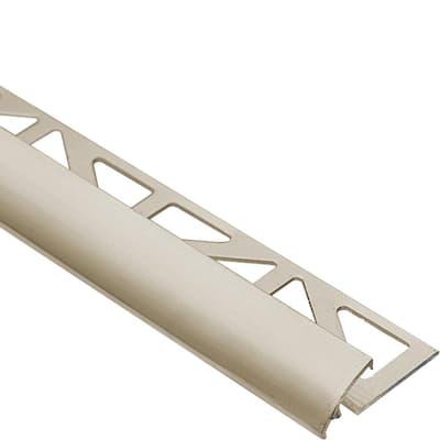 Dural Duratrans Profile 7 16 In X 96 In Anodized Aluminum Titanium Tile Edging Trim Dtae 110 T The Home Depot