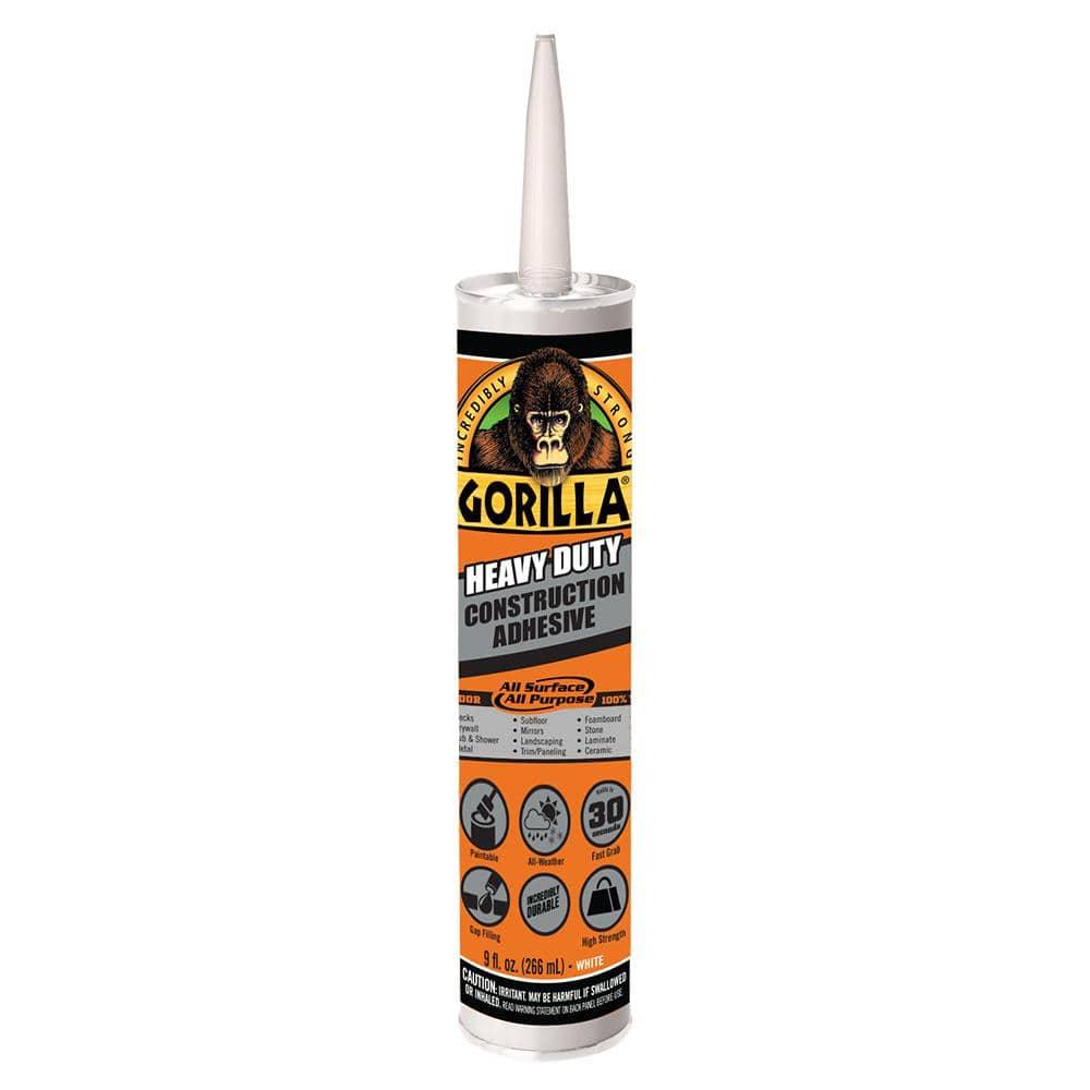 Gorilla 9oz Heavy Duty Construction Adhesive