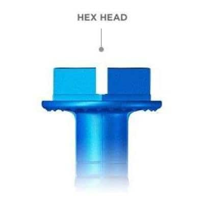 3/16 in. x 1-1/4 in. Hex-Washer-Head Concrete Anchors (75-Pack)