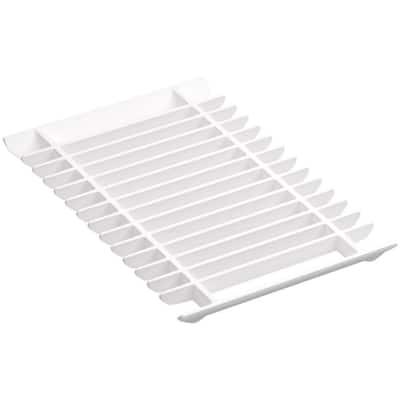Prolific Multi-Purpose Grated Rack in White