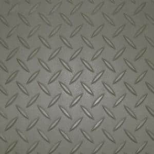 2 ft. x 2.5 ft. Pewter Textured PVC Door Mat