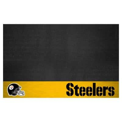 Pittsburgh Steelers 26 in. x 42 in. Grill Mat