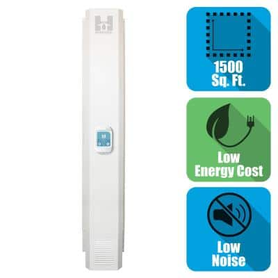 Whole House Basement Energy Efficient Digital Ventilation System/Dehumidifier for 1500 sq. ft.