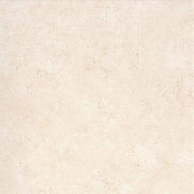 Tesola Cream 12.28 in. x 12.28 in. Matte Concrete Look Ceramic Floor & Wall Tile (20.96 sq. ft./Case)