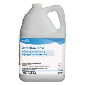 1 Gal. Extraction Rinse Carpet Cleaner, Floral Scent, Bottle, 4/Carton