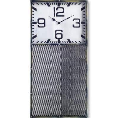 Hibberson Rectangular Large Industrial Wall Clock