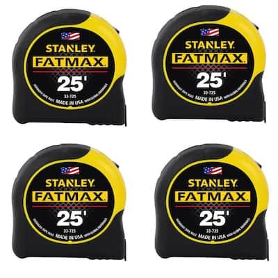 FATMAX 25 ft. x 1-1/4 in. Tape Measure (4-Pack)