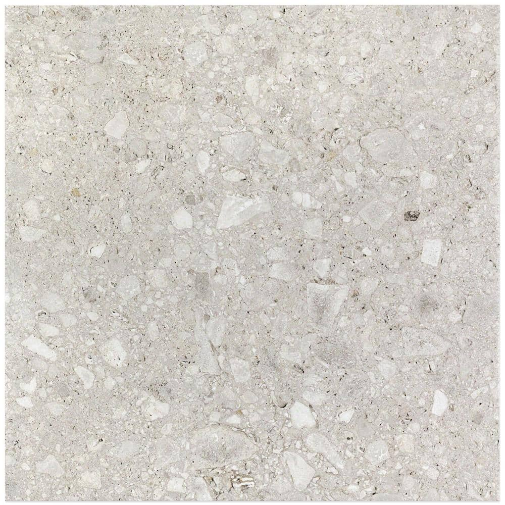 Ivy Hill Tile Rizzo Light Gray 24 In X 24 In X 9mm Semi Polished Porcelain Floor And Wall Tile 3 Pieces 11 62 Sq Ft Case Ext3rd101251 The Home Depot