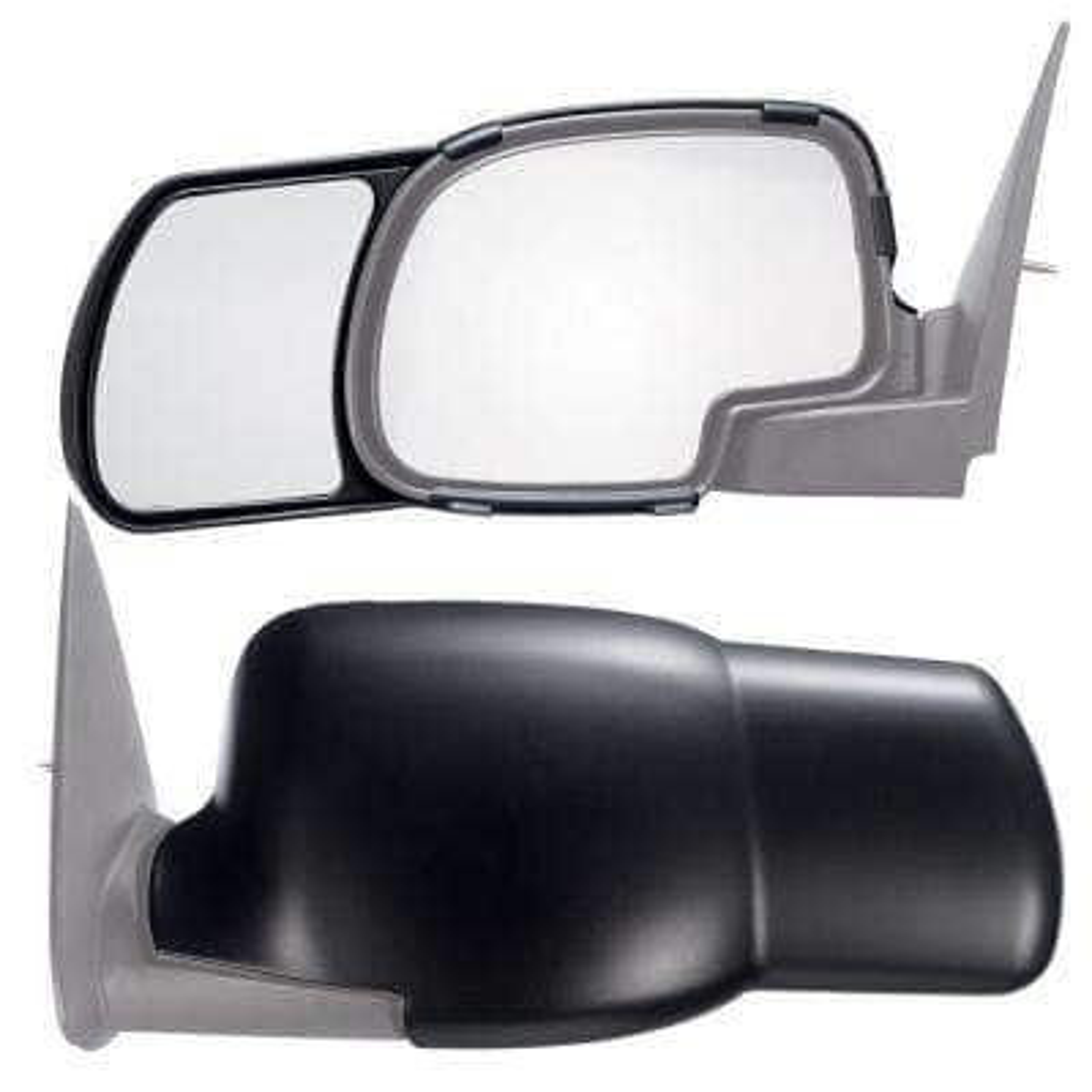 Clip-on Towing Mirror Set for 1999 - 2006 Silverado Sierra; 00-06 Suburban Tahoe Yukon; 02-06 Avalanche