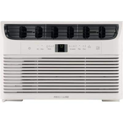 6,000 BTU 115-Volt Window-Mounted Mini-Compact Air Conditioner with Full-Function Remote Control