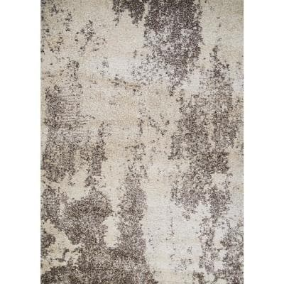 Bromley Taiga Frost-Ivory 9 ft. x 13 ft. Area Rug