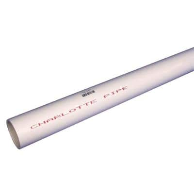 3/4 in. x 10 ft. PVC Schedule 40 Plain-End Pipe