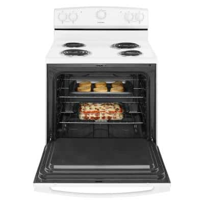 4.8 cu. ft. Electric Range in White