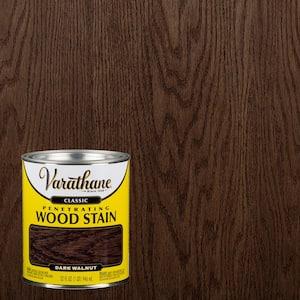 1 qt. Dark Walnut Classic Wood Interior Stain (2-Pack)