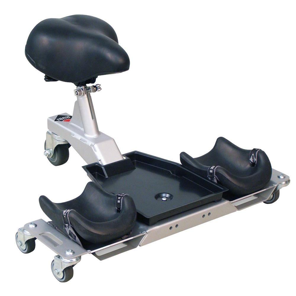 SR1 Knee Pads and Ergonomic Seat