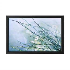 ''Time to Relax'' by Beata Czyzowska Framed with LED Light Floral Wall Art 16 in. x 24 in.