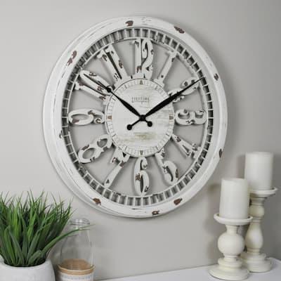 20 in. Whitney Wall Clock